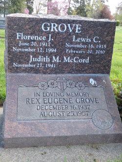 Florence J. <I>Stockard</I> Grove