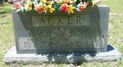 B. Leola Acker