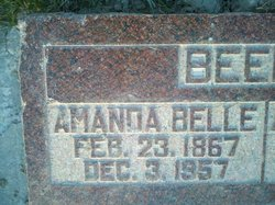 Amanda Bell <I>Brashear</I> Green