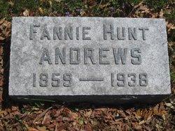Fannie <I>Hunt</I> Andrews