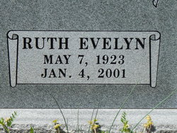 Ruth Evelyn <I>Burris</I> Boy Satterfield