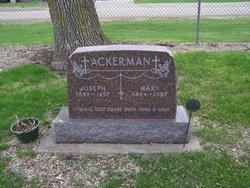Mary Ewen <I>Ruppert</I> Ackerman