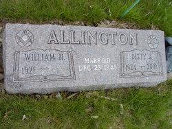 Betty J. <I>Groh</I> Allington