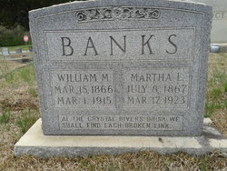 Martha L Banks