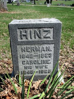 Caroline <I>Zahrt</I> Hinz