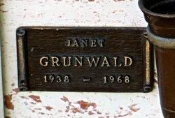 Janet Dorothy <I>Mathiesen</I> Grunwald