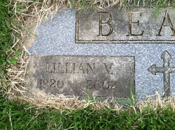 Lillian Virginia <I>Hargett</I> Beall