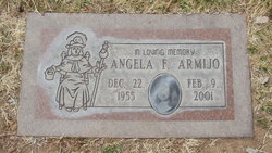 Angela F <I>Sanchez</I> Armijo