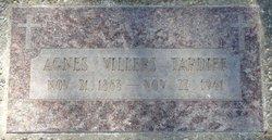 Agnes <I>Villers</I> Tardiff
