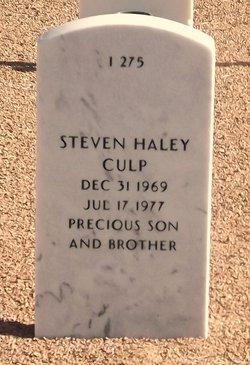 Steven Haley Culp