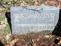 Ervin William Krader, Sr