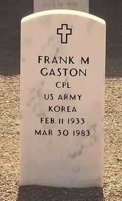 Frank Morriss Gaston