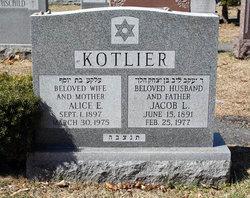 Alice E. <I>Krock</I> Kotlier