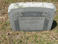 Minnie Lee Kenley