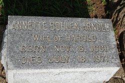 Annette <I>Bohlen</I> Arnold