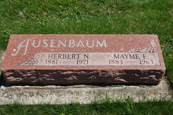 Mayme E. <I>Bircher</I> Ausenbaum