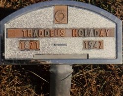 Thaddeus S Holaday