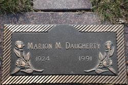 "Marion M. ""Bonnie"" Daugherty"