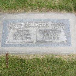 Clara <I>Wells</I> Belcher
