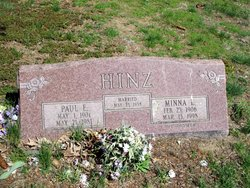 Minna L. <I>Radseck</I> Hinz