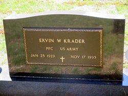 """Ervin William """"Bill"""" Krader, Jr"""