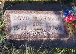 Loyd William Lyman