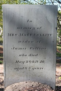 Mary <I>Weston</I> Collins