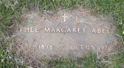 Ethel Margaret <I>Wooster</I> Abell