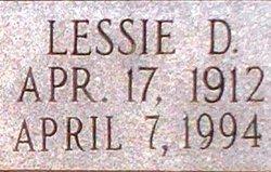 Lessie <I>Dicks</I> Tisdale
