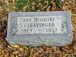 Asa McGuire Cleavinger, Sr