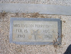 Evelyn Faye <I>Perry</I> Daniel