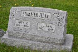 Julia G. <I>Smail</I> Summerville
