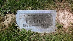 Florence Ethel <I>Mayfield</I> Hardman
