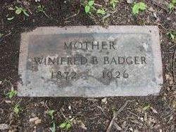 Winifred B Badger