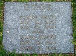 Edna Irene <I>Huff</I> Cook