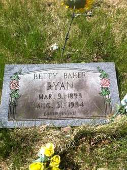 Betty <I>Baker</I> Ryan