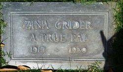 Zina Franklyn Wakefield Grider