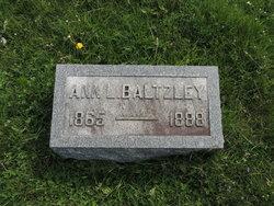 Ann L. <I>Troxell</I> Baltzley
