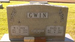 Hazel Inez <I>Drake</I> Gwin