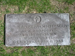 Pvt Laurance A Whiteman