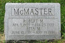 Robert Marshall McMaster
