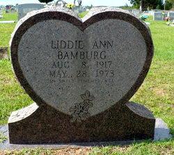 Liddie Ann <I>Bamburg</I> Bamburg