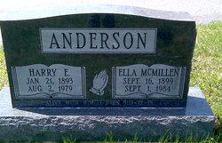 Ella Irene <I>McMillen</I> Anderson