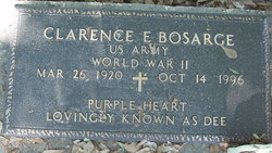 "Clarence E ""Dee"" Bosarge"
