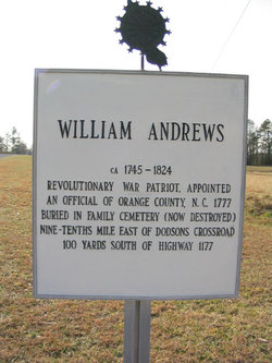 William Andrews Family Cemetery