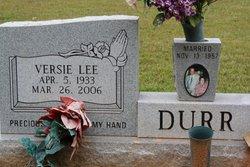 Versie Lee Durr