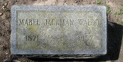 Mabel <I>Jackman</I> Waldo