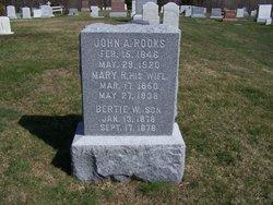 Mary F. <I>Richardson</I> Rooks