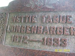 Nettie <I>Tague</I> Longenbarger