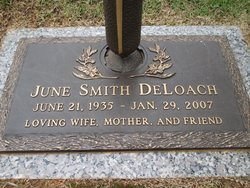 June <I>Smith</I> DeLoach